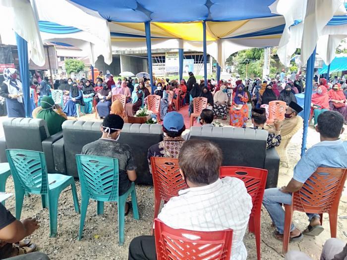 Anggota DPRD Riau Reses di Gajah Sakti